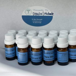 Homeopathic Birth support kit for Doulas and Midwives
