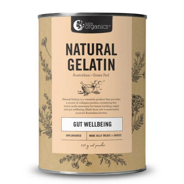nutra organics gelatin 250g